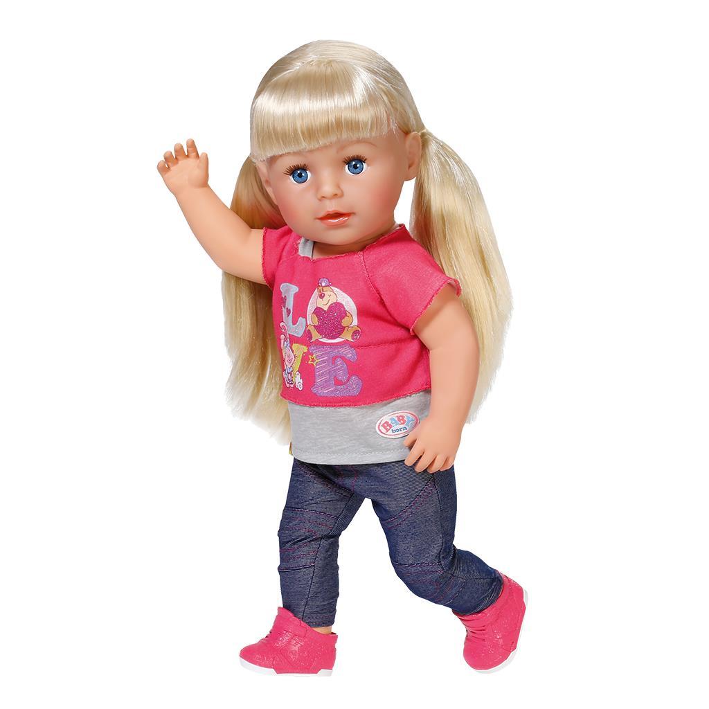 Беби бон кукла с волосами