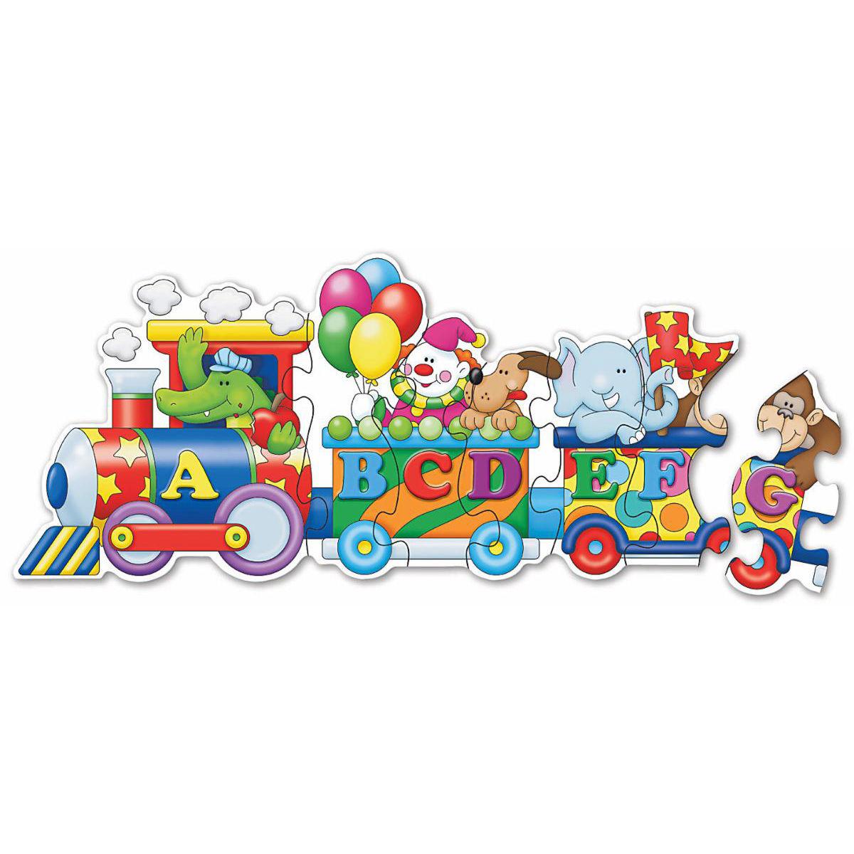 Картинка паровозик с буквами