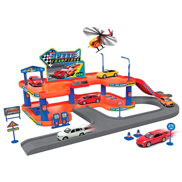 Купить набор машинок с гаражом купить гараж в растуново домодедовский район