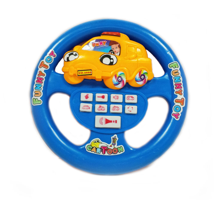 ребенку купить детскую игрушку-руль все больше
