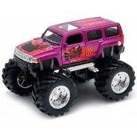 Модель машины Hummer H3 Big Wheel Monster, 1:34-39