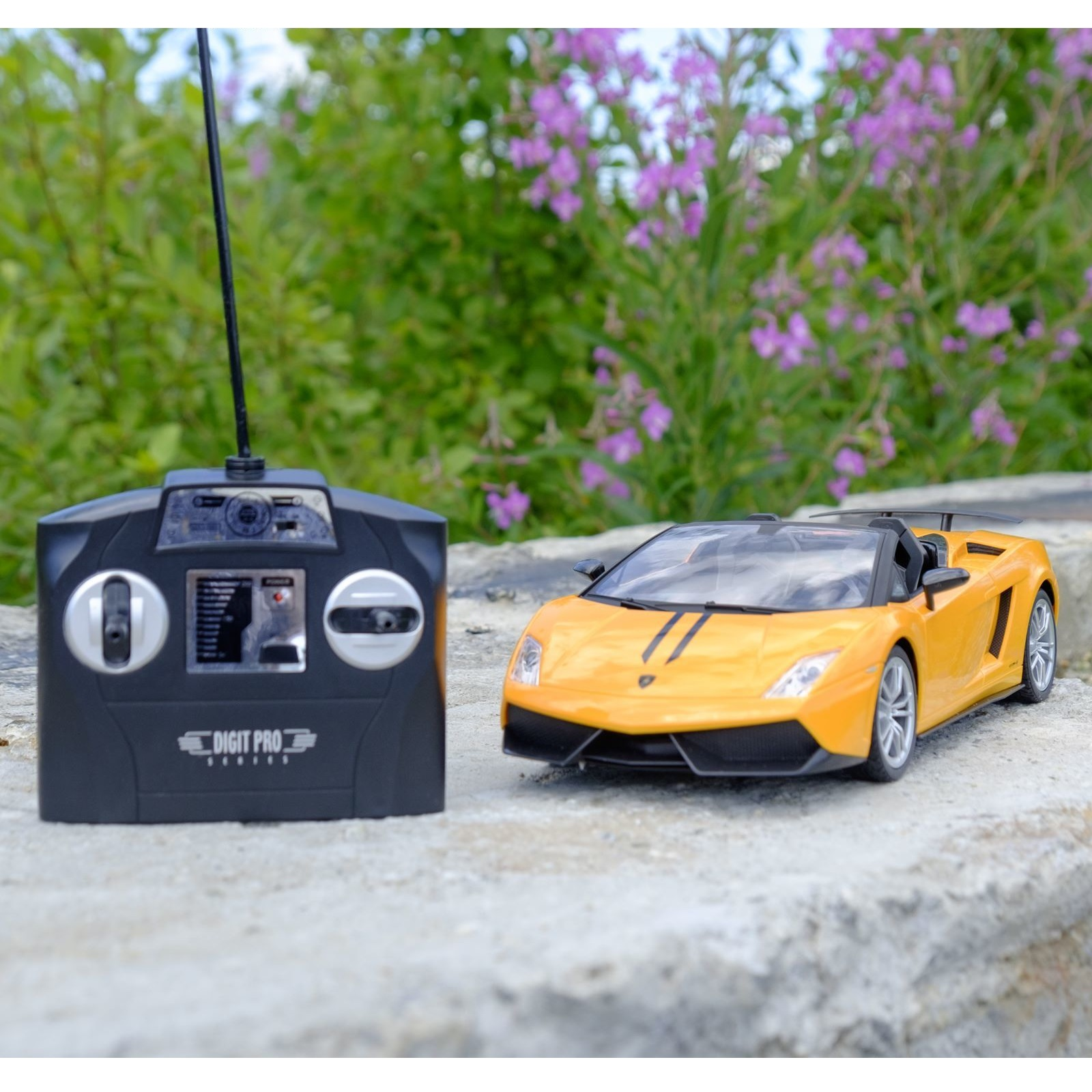 Машина р/у Lamborghini LP570-4 Superleggera (на аккум.), желтая, 1:14