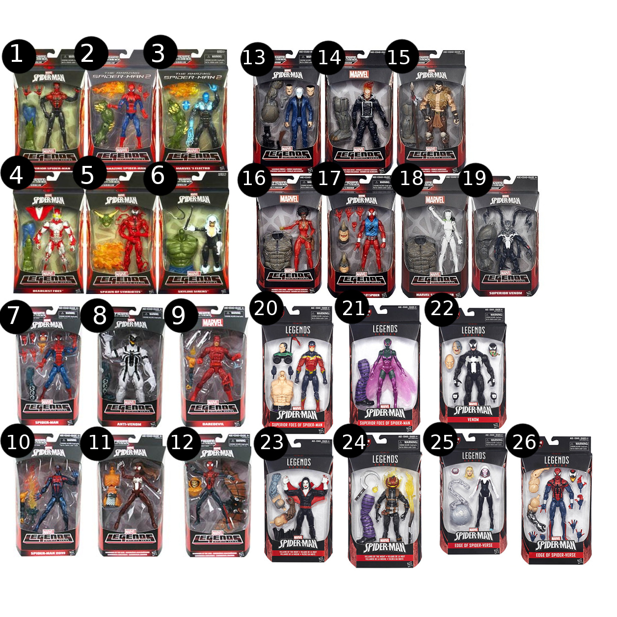 Фигурка Marvel Legends Infinite Series