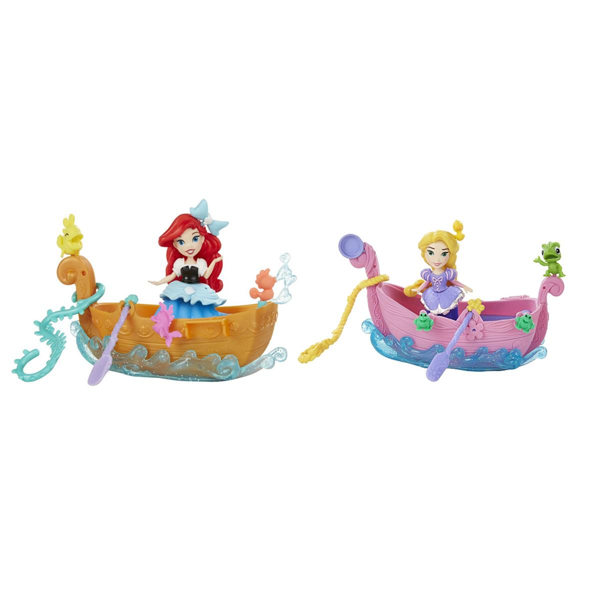 кукла рапунцель в лодке