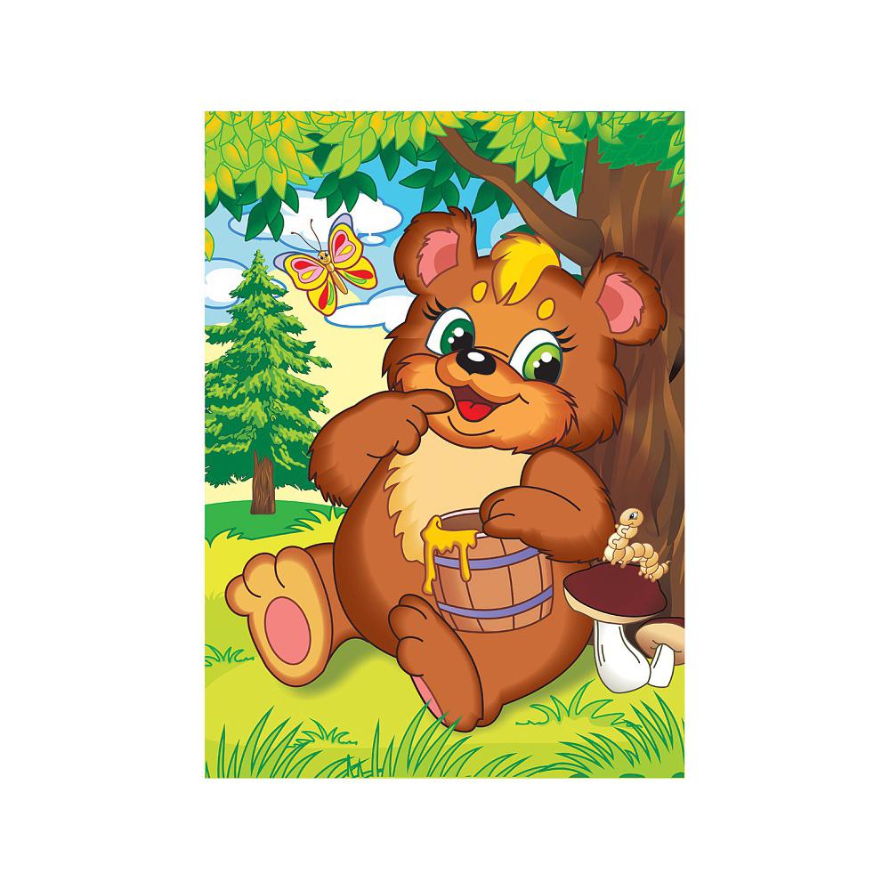 Картинка мишка с медом
