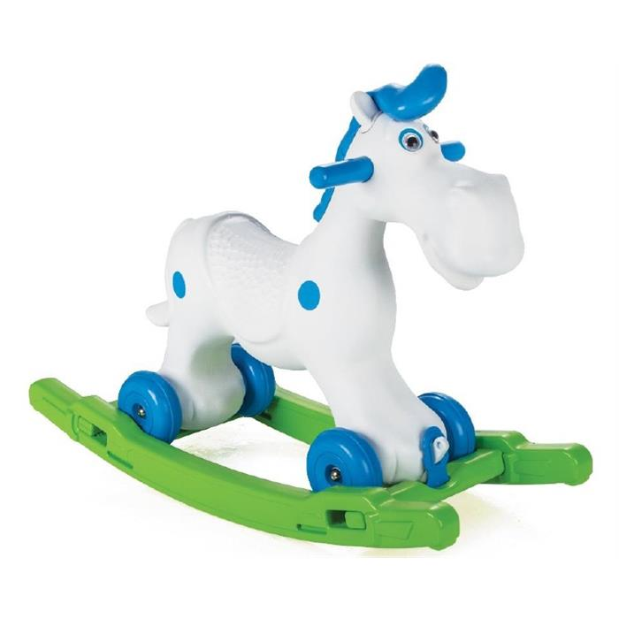Среди предлагаемых производителями вариантов есть как традиционные лошадки и пони на полозьях, так и другие животные: медведи, динозавры, собаки, обезьяны и даже ежи.