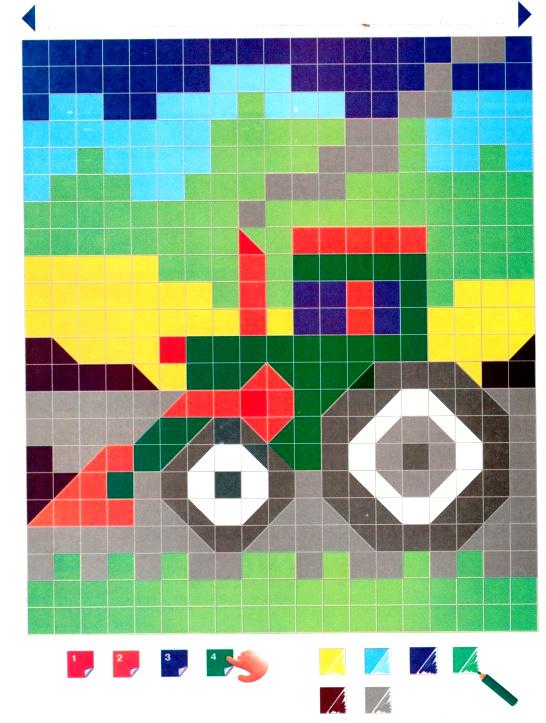 картинки для умной мозаики время