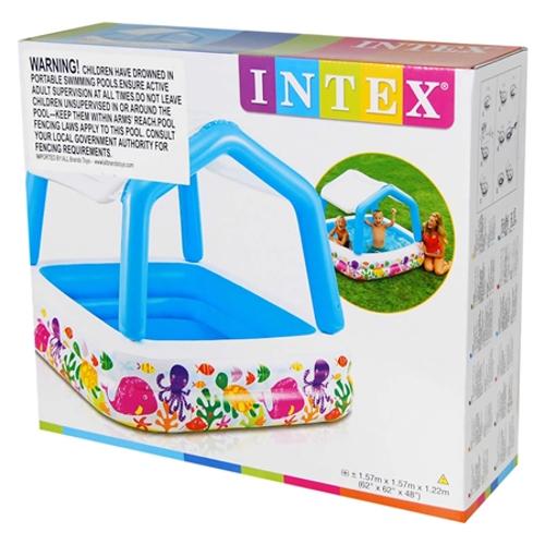 Детские бассейны  Детский бассейн INTEX Рыбки купить в